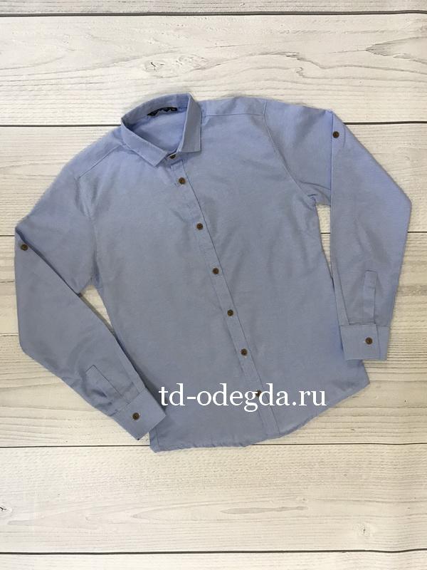 Рубашка 731 голубая