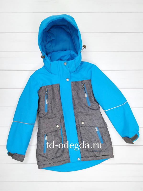 Куртка 806 голубой