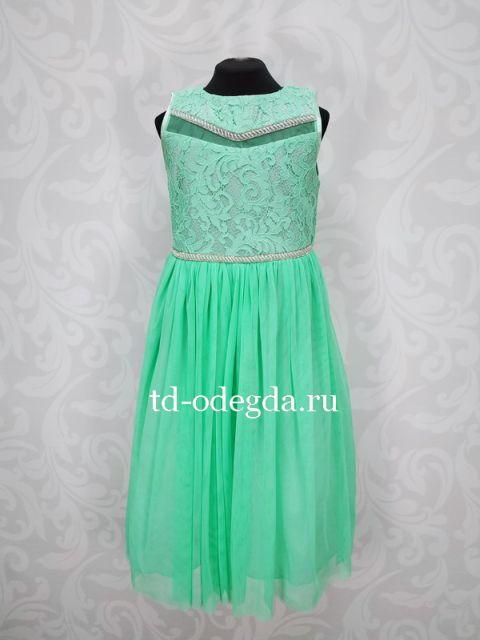 Платье 7895 мята