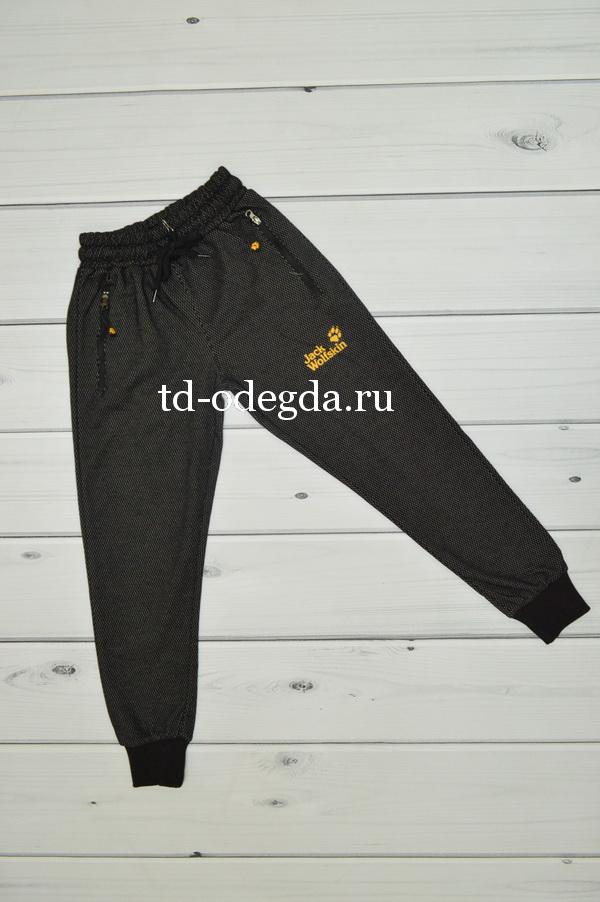 Брюки 03701 черный