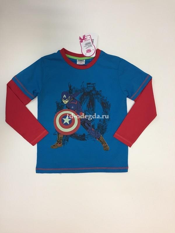Лонгслив А5607 Голубой